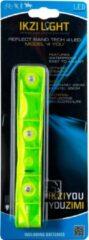 Ikzi Light IKZI-Light- Reflecterende armband - 4-led - Fluorgeel