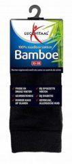 Lucovitaal Bamboe Sokken- Lang zwart - 47-50 Zwart 1 Paar