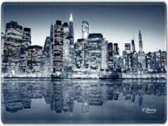 Blauwe Muismat New York - Sleevy