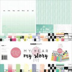 Kaisercraft: My Year, My Story Paper Pack 12*12 (PK524)
