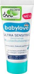 DM Babylove Reisflesje Baby Ultra Sensitive wondbeschermingscrème - reisverpakking (20 ml)