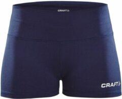 Marineblauwe Craft Squad Hot Pants Sportbroek - Maat M - Vrouwen - navy
