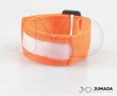Jumada Reflecterende Hardloop Verlichting - Sportarmband - Met LED Verlichting - Hardlopen - Sporten - Oranje
