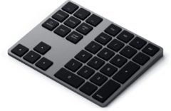 Grijze Satechi bluetooth extended keypad - Space Grey