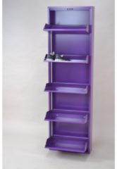 Möbel direkt online Moebel direkt online Schuhkipper Metallschuhschrank mit 5 Klappen Raumspar-Schuhschrank