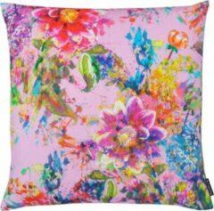 Roze The Cushion Shop Spring - Sierkussen - 44x44 cm - Lila