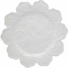 Bordallo Pinheiro Bord Geranium - Sardinheira Wit 22 cm - Set van vier stuks