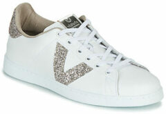 Victoria Made in Spain Sneaker Laag Dames Nude - Wit   39