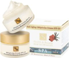 H&B Dead Sea Minerals Daycream - Sea Buckthorn - with SPF-20 - 50 ml