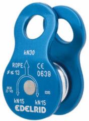 Blauwe Edelrid - Turn - Haspel voor touw blauw