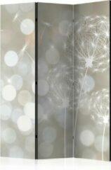 Bruine Kamerscherm - Scheidingswand - Vouwscherm - The Ballad of Beauty [Room Dividers] 135x172 - Artgeist Vouwscherm