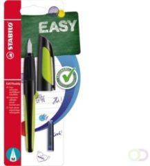 Vulpen Stabilo Easybuddy zwart/lime rechst blister