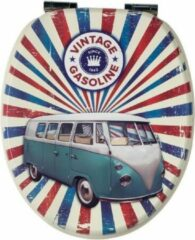 Rode Wirquin Toiletzitting vintage Van