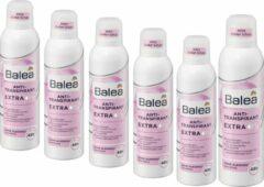 DM Balea Deodorant Anti-transpirant Extra Dry | 6-pack (6 x 200 ml)
