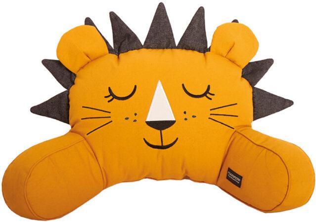 Afbeelding van Roommate Lion Pram Kussen Yellow Ochre