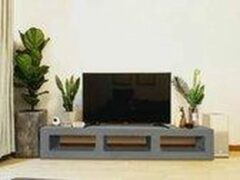 Betonlook TV-Meubel open vakken | Stone | 120x40x40 cm (LxBxH) | Betonlook Fabriek | Beton ciré