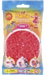 Rode Hama Strijkkralen 1000 Stuks Rood Neon