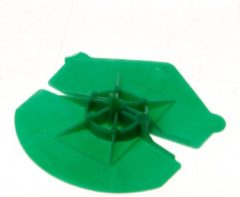 Gebr. Bodegraven GB Uni-Clip 341330 5 - 5,5mm groen - 1000 stuks