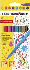 Transparante Viltstiften Eberhard Faber Glitter EF-551008
