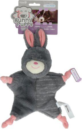 Afbeelding van Bunny Puppy Crunchy Knot - Hondenspeelgoed - 34x19x8 cm Grijs Roze