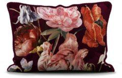 Essenza Home dekbedovertrek Anneclaire cherry - extra kussensloop (60x70 cm)