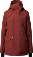Rode Roxy Glade Jacket Wintersportjas Dames - Maat S