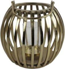 Luxury Label Windlicht Macey 34 X 34 Cm Staal Goud