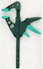 EHZ mini eenhands lijmtangen Wolfcraft 3455100 Spanbreedte (max.):110 mm Afm. werkbereik:40 mm
