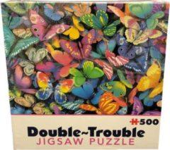 Cheatwell Double Trouble - Butterflies puzzel - 500 stukjes