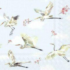 Blauwe IHR - SPRING FLIGHT - papieren servetten - Lente - Vogels