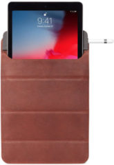 "DECODED Foldable Sleeve Tablet 11""- Hoogwaardig Full-Grain Leer, Diverese Kijkmodi, Minimaal Design Tablethoes tot 11"" [ Bruin ]"