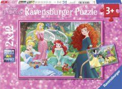 Ravensburger Spieleverlag Ravensburger puzzel In de wereld van de Disney prinsessen - Twee puzzels - 12 stukjes - kinderpuzzel