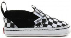 Zwarte Skateschoenen Vans Slip-on v crib