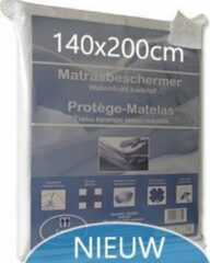 Witte Bedlin Matrasbeschermer Waterdicht 140x200cm