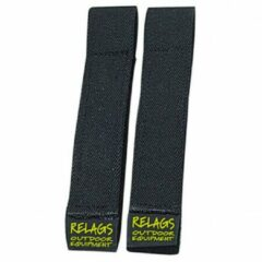 Basic Nature Relags - Strapits (2-Pack) - Spangordel maat 50 cm zwart