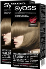 Syoss 7-6 Middenblond Permanente Haarverf Duo (2x 171g)
