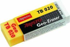 Witte Gum Aristo Geo TB 020 - plastic voor potlood en pen