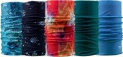 Rode Necky Protect 5-pack Bandana | Sjaal | Nekwarmer | Mondmasker | Multifunctionele hoofdbescherming | Fiets | Sport | Wintersport | Watersport | Motorsport