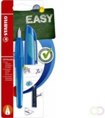 Vulpen Stabilo Easybuddy donkerblauw/lichtblauw linkshandig in blister