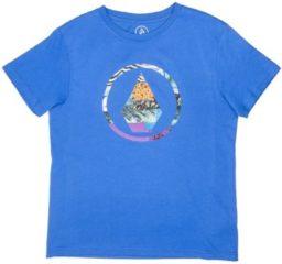 Blue Volcom Magneticstone T-Shirt Boys