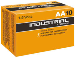 Ind.Alkal. AA (VE10) - Battery Mignon 3550mAh 1,5V Ind.Alkal. AA (quantity: 10)