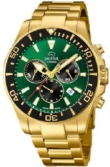 Gouden Jaguar Zwitsers horloge Executive Diver Swiss Made, J864/1