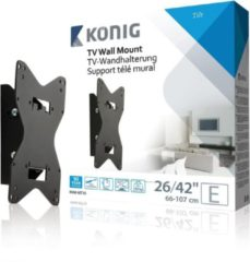 König KNM-MT10 flat panel muur steun 106,7 cm (42'') Zwart