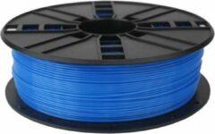 Gembird 3DP-PLA1.75-01-FB Polymelkzuur Fluorescent blue 1000g 3D-printmateriaal
