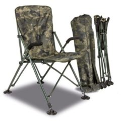 Solar Undercover Camo Foldable Easy Chair High - Opvouwbare Stoel