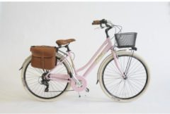 Via Veneto Cityfahrrad 28 Zoll 605 Aluminium Lady rosa Via Veneto Rosa