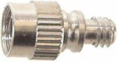 Zilveren Bofix Oppompnippel Met Terugslagklep 25 Stuks (240104)