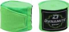 Dynamite Fight Gear Dynamite Boks Bandage - Boxing Wraps - Boksbandages - Kickboks bandage - 350cm-450cm - Groen