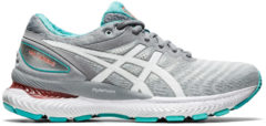 Witte Asics GEL-Nimbus 22 hardloopschoenen voor dames - Hardloopschoenen