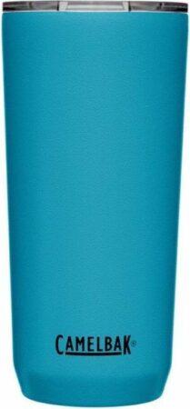 Afbeelding van Zilveren CamelBak Tumbler SST Vacuum Insulated - Isolatie Drinkbeker - 600 ml - Blauw (Larkspur)
